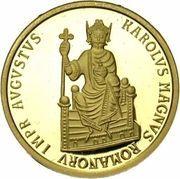 50 Écu - Baudouin I (Charlemagne) – obverse