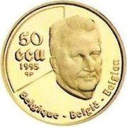 50 Écu - Albert II (United Nations) – obverse