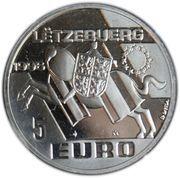 5 Euro - Jean I (Henri, Prince-Lieutenant of Luxembourg) -  obverse
