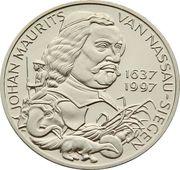 10 ECU - Beatrix (Johan Maurits van Nassau-Siegen) -  reverse