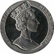 2.8 ECUs - Elizabeth II (Ariane) – obverse