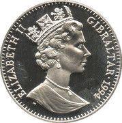 2.8 ECUs - Elizabeth II (Mythology) – obverse