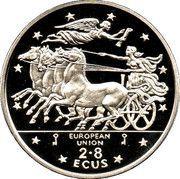 2.8 ECUs - Elizabeth II (Mythology) – reverse
