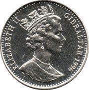 2.8 ECUs - Elizabeth II (1000 Years of Austria) – obverse
