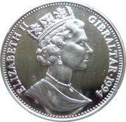 14 Ecus - Elizabeth II (International Aid for Europe) – obverse