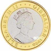 75 ECUs - Elizabeth II (1000 Years of Austria) – obverse