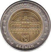 2 (Germany Euro Fantasy Token; Bremen) – obverse