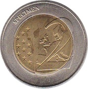 2 (Germany Euro Fantasy Token; Bremen) – reverse