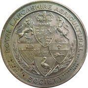 Royal Lancashire Agricultural Society – obverse