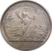 Royal Lancashire Agricultural Society – reverse