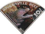10 Dollars - Elizabeth II (Bougainville reef) – reverse