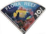 10 Dollars - Elizabeth II (Flora reef) – reverse