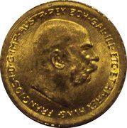 10 Corona - Franz Joseph I – obverse
