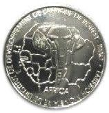 1500 Francs / 1 Africa (IDAO coinage) – reverse