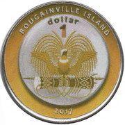 1 Dollar (Angola) – obverse
