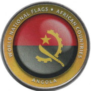 1 Dollar (Angola) – reverse