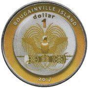 1 Dollar (Algeria) – obverse