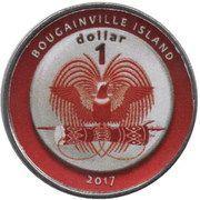 1 Dollar (Argentina) – obverse