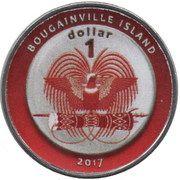1 Dollar (Barbados) – obverse