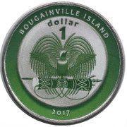 1 Dollar (Afganistan) – obverse
