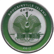 1 Dollar (Azerbaijan) – obverse