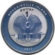 1 Dollar (Andorra) – obverse