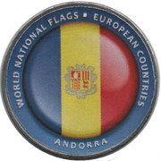 1 Dollar (Andorra) – reverse