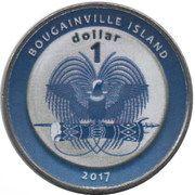 1 Dollar (Austria) – obverse