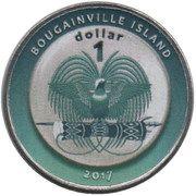 1 Dollar (Australia) – obverse