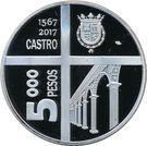 5000 Pesos (García Hurtado de Mendoza) – obverse