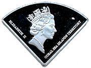 10 Dollars - Elizabeth II (Shark reef) – obverse