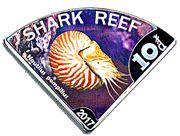 10 Dollars - Elizabeth II (Shark reef) – reverse