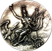 Medal - Treaty Chile-Bolivia 1904 – obverse