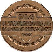 Medal - DLG Bronze Wine Prize – obverse