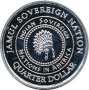 1 Quarter Dollar (Arizona - Apache) – obverse