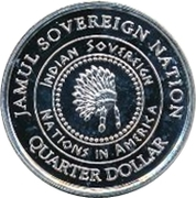 1 Quarter Dollar (Alaska - Eskimo) – obverse