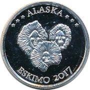 1 Quarter Dollar (Alaska - Eskimo) – reverse