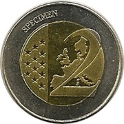 2 (Montenegro Euro Fantasy Token) – reverse