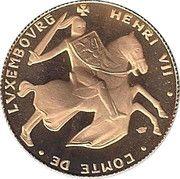 Prince Henry Hereditary Grand Duke of Luxembourg – reverse