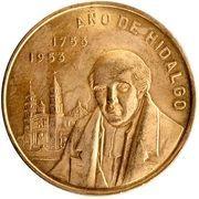 0.48 Onza (200th Anniversary Hidalgo's Birth; Medallic Gold Coinage) – reverse