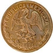 0.24 Onza (100th Anniversary of Constitution; Medallic Gold Coinage) – obverse
