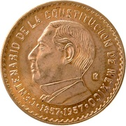 0.24 Onza (100th Anniversary of Constitution; Medallic Gold Coinage) – reverse
