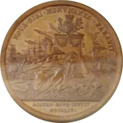 Medal - Elizabeth (Commemorative of the Moscow University foundation) – reverse