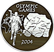 500 Sika (Olympic Games 2004) – reverse