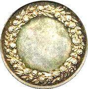 Wedding Medal – reverse