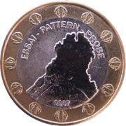 1 Europ (Montserrat Euro Fantasy Token) – obverse