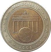 2 Euro (Germany Euro Fantasy Token) – obverse