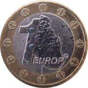 1 Europ (Montserrat Euro Fantasy Token) – reverse