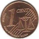 1 Cent (Wales Euro Fantasy Token) – reverse