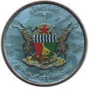 1 Shilling (A6M Zero) – obverse